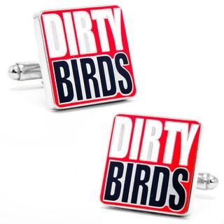 Silvertone Falcons 'Dirty Bird' Cufflinks