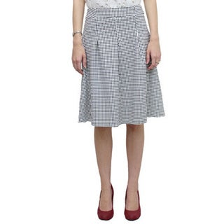 Relished Charlotte Plaid Midi Skirt