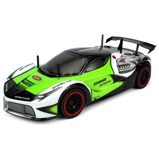 Velocity Toys 2.4GHz 15+ MPH Piranha Racer Exotic Supercar 1:10 Remote Control Car