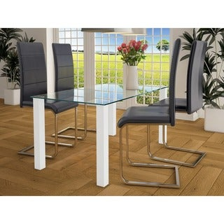 Scandinavian Lifestyle Norma Dining Table large, glass / high-gloss