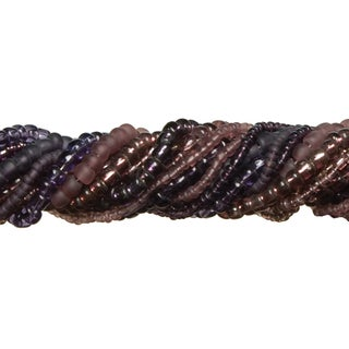 Jewelry Basics Glass Seed Bead Mix 90gPurple