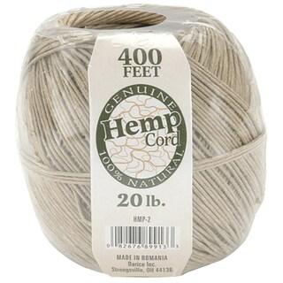 Hemp Cord 20lb 400'Natural