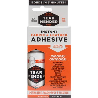 Tear Mender Instant Fabric & Leather Adhesive2oz