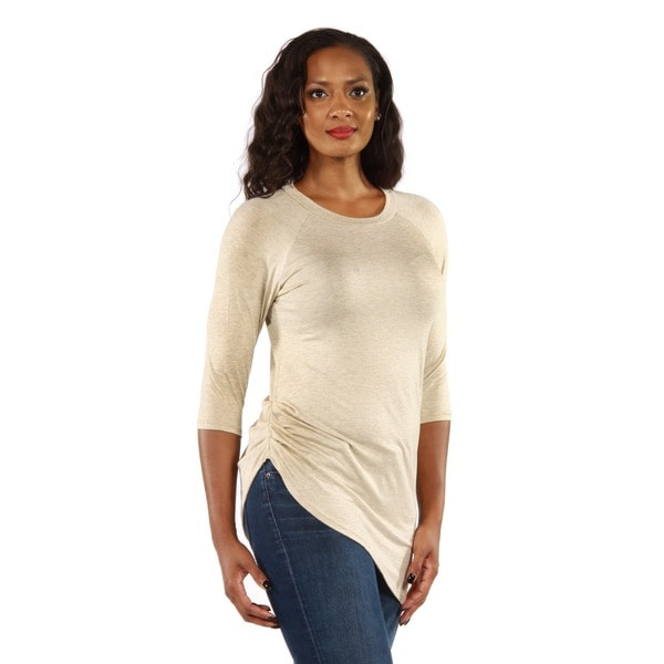 24/7 Comfort Apparel Women's Side-Cinched Tunic