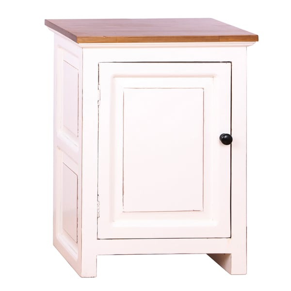 Curtis Wood Side Table