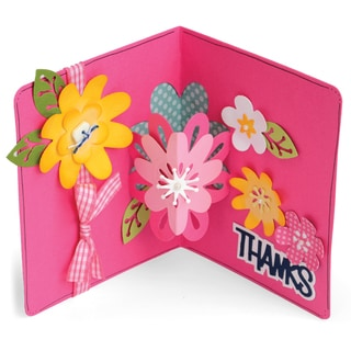 Sizzix Framelits Dies By Stephanie Barnard 21/PkgFlowers DropIns Card