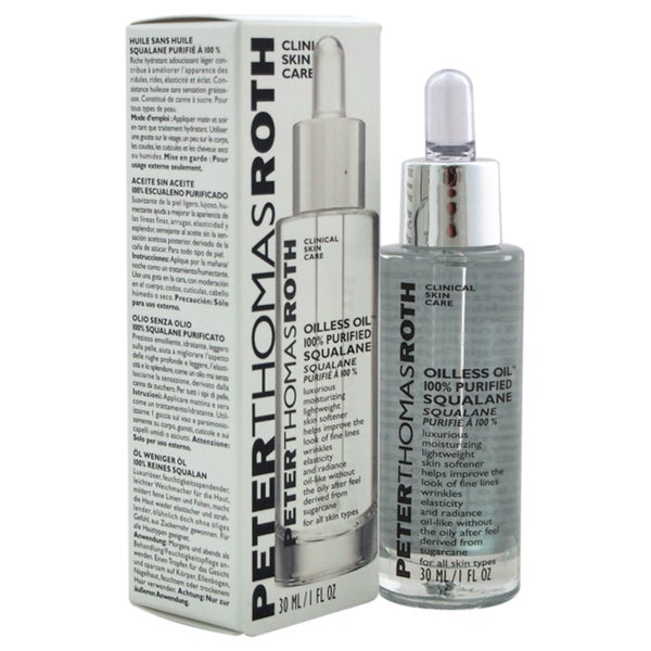 Peter Thomas Roth 100% Purified Squalane Oilless Oil 1 oz. Opens flyout.