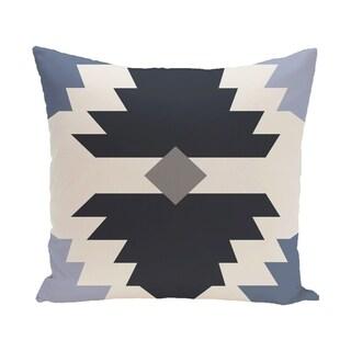 Mesa Geometric Print 28x28-inch Floor Pillow