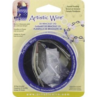 Bracelet Jig 3D W/20 Pegs