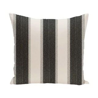 Striate Stripe Print 28x28-inch Floor Pillow