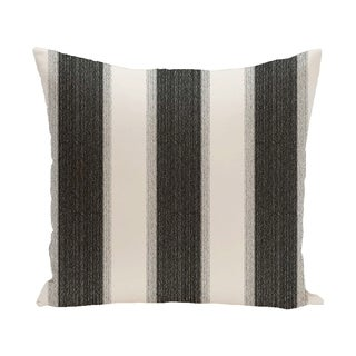 Striate Stripe Print 28x28-inch Floor Pillow