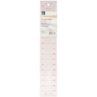 Acrylic Ruler3inX18in