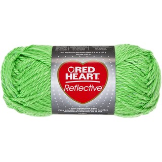 Red Heart Reflective YarnNeon Green