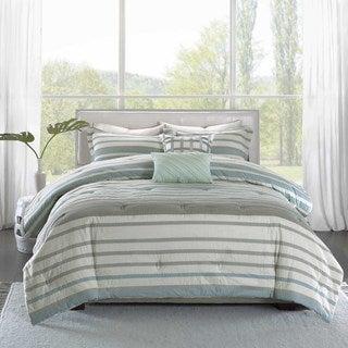 Madison Park Pure Burke 5-Piece Cotton Comforter Set