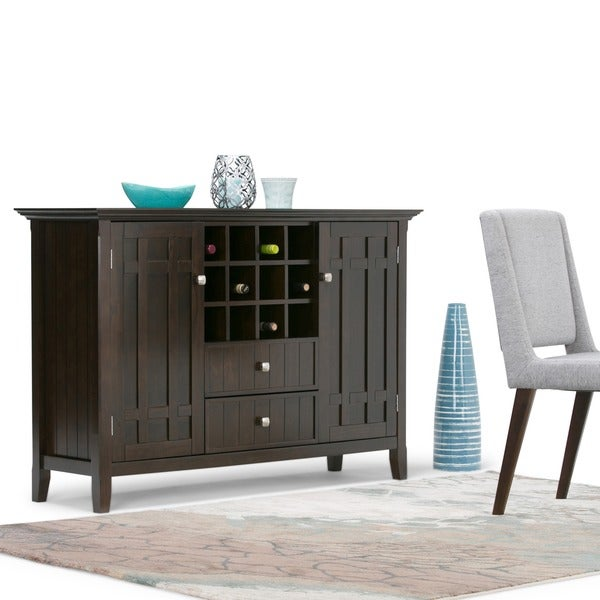 WYNDENHALL Freemont Sideboard Buffet and Winerack