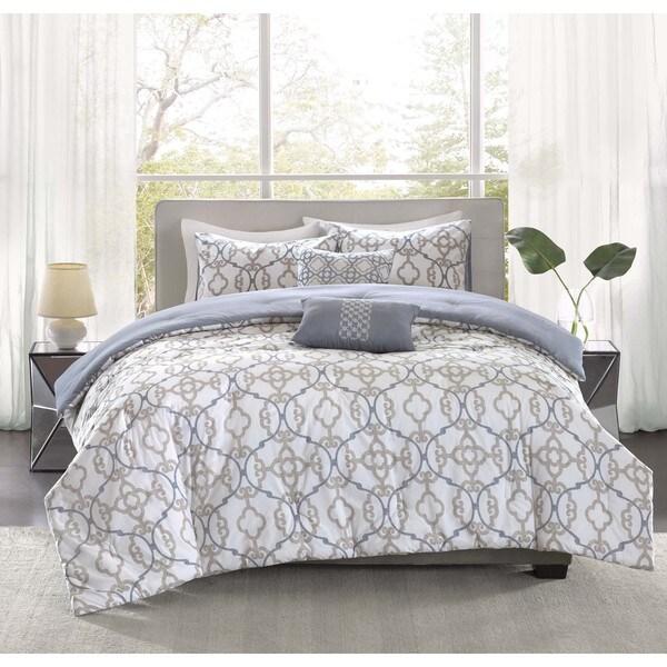 Madison Park Pure Nicola 5-Piece Cotton Comforter Set