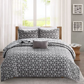 Madison Park Pure Andrea 4-Piece Reversible Coverlet Set