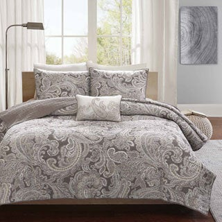 Madison Park Pure Dermot 4-piece Cotton Coverlet Set 2-Color Option