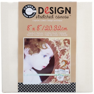 Stretched CanvasNatural 8inX8in