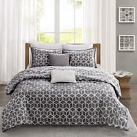 Madison Park Pure Andrea 5-Piece Reversible Cotton Comforter Set