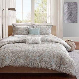 Madison Park Pure Dermot 5-piece Cotton Comforter Set 2-Color Option
