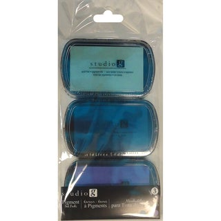Hampton Art Pigment Ink Pads 3/PkgCool