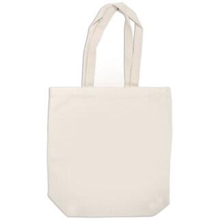 Canvas Medium Tote Bag 15inX10inX4inNatural