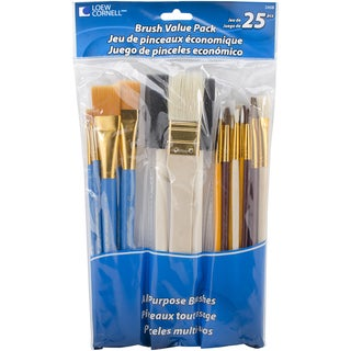 Brush Set Value Pack25/Pkg