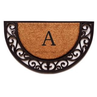 Plantation Arch Monogram Doormat