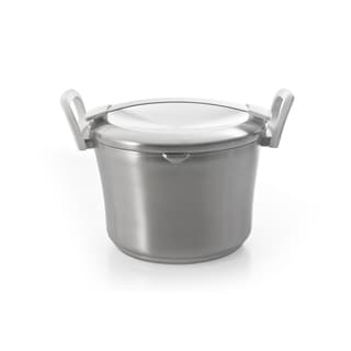 Auriga 9.5-inch Stainless Steel Covered Stockpot