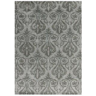 Hand-tufted Better Design Lily White Natural Grey (5' x 8')