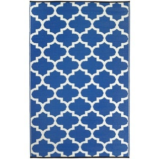 Tangier Regatta Blue & White (3' x 5')