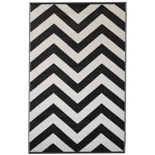 Laguna Black & White (3' x 5')