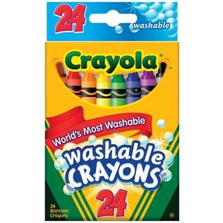 Crayola Washable Crayons24/Pkg