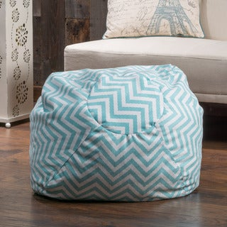 Christopher Knight Home Remy Chevron Lounge Beanbag Chair