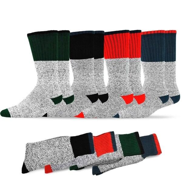 Hanes Men/'s clothing All-Season Cotton Work,crew Socks Size 10-13 6 Pack Gray