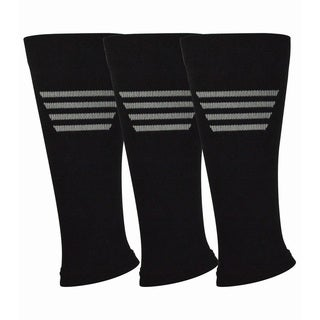 Teehee Fashion Compression Calf Sleeves (Pack of 3)