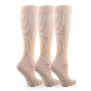 Compression Knee High Socks (Pack of 3)