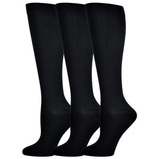 Teehee Compression Knee High Socks (Pack of 3)