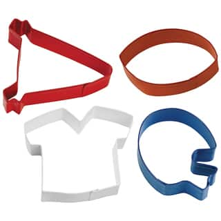 Metal Cookie Cutter Set 4/PkgFootball Theme|https://ak1.ostkcdn.com/images/products/10566438/P17643985.jpg?impolicy=medium