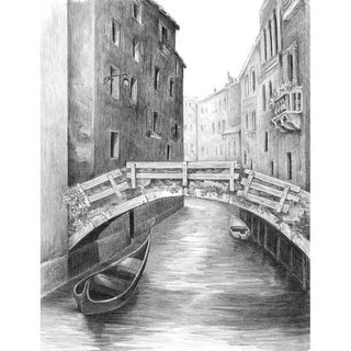Sketching Made Easy Kit 9inX12inVenice Bridge