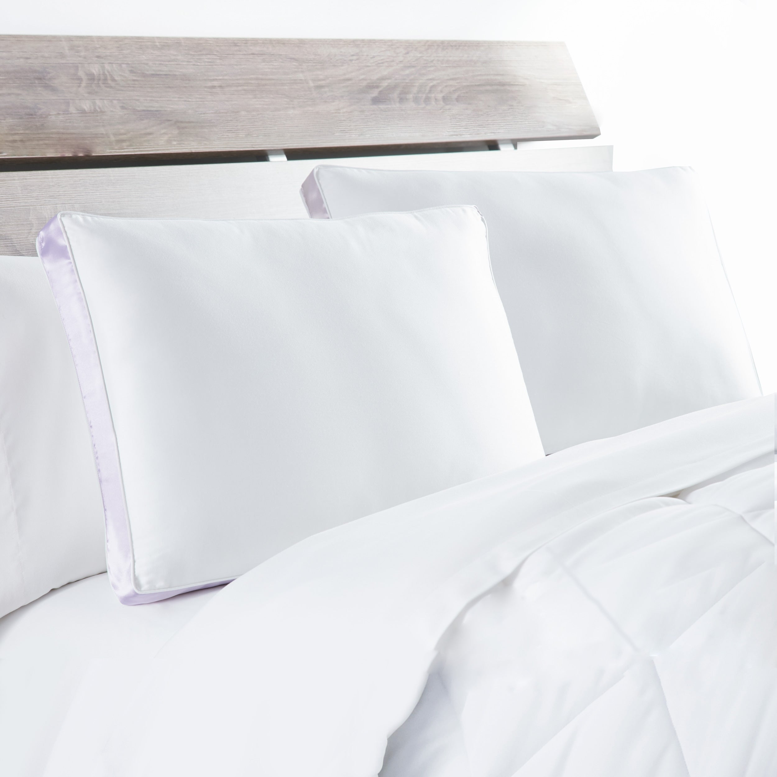 Deluxe Flat Bed Sheet Cotton 4pk Full Size White