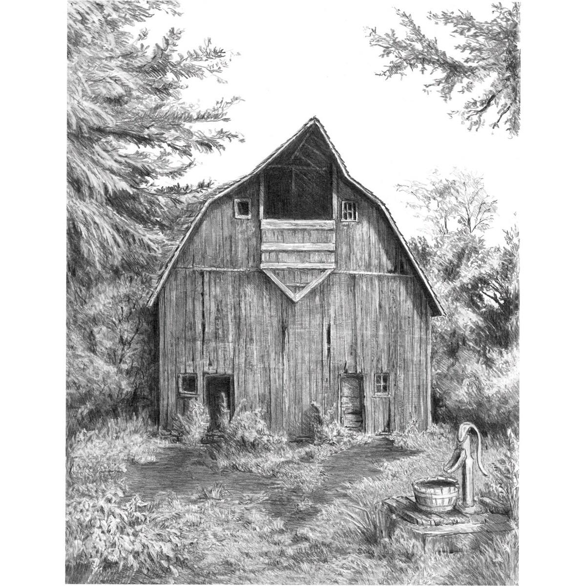 Royal Brush Sketching Made Easy Kit 9inX12inOld Country B...