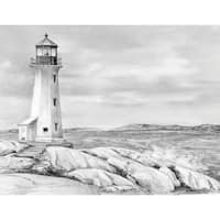 Sketching Made Easy Kit 9inX12inLighthouse Point