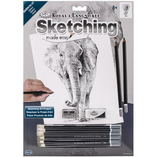 Sketching Made Easy Kit 9inX12inElephant