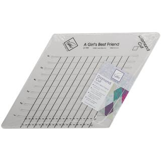 Diamond Cut Slotted Ruler9inX9in|https://ak1.ostkcdn.com/images/products/10566541/P17644193.jpg?impolicy=medium