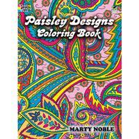 Dover PublicationsPaisley Designs Coloring Book