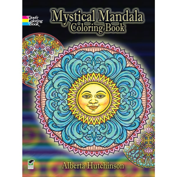 Dover PublicationsMystical Mandala Coloring Book