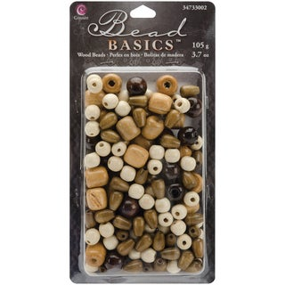 Jewelry Basics Wood Beads 3.7oz#2