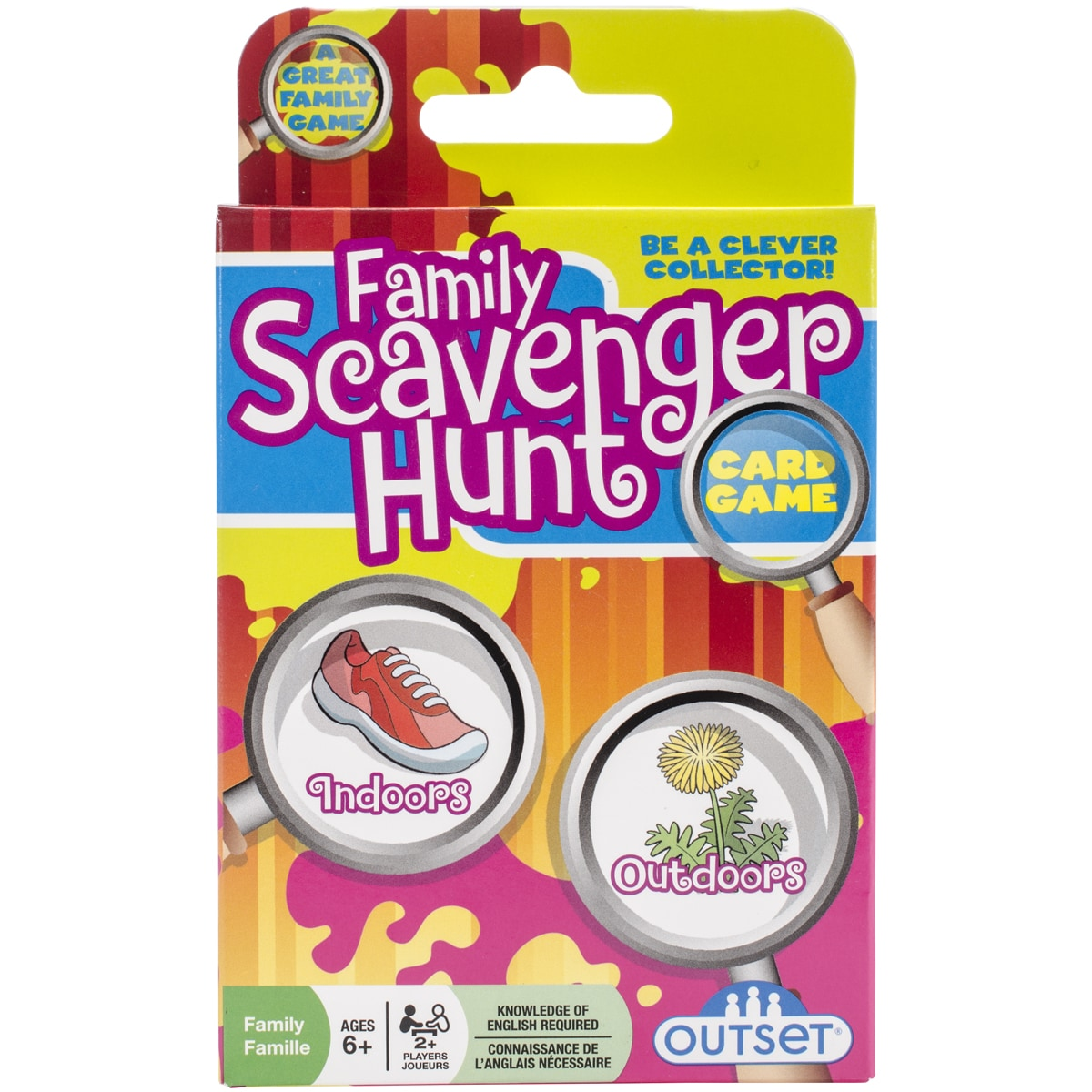 Outset Media Family Scavenger Hunt Card Game